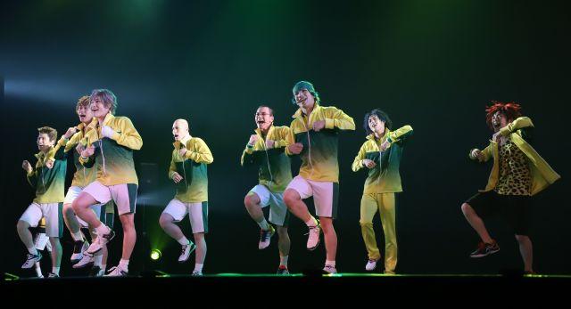 歌と踊りも魅力の2.5次元の舞台