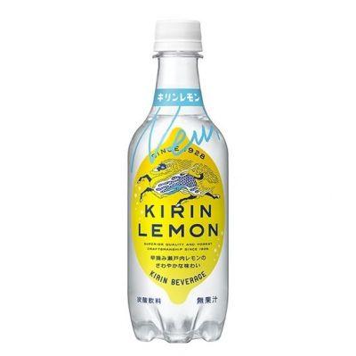 キリンレモンにも麒麟がデザインされています