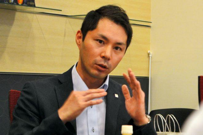 育休取得の体験を話す川合修平さん