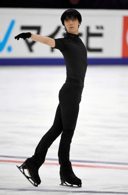 ファンの間では「2.5次元の人」などと称されるフィギュアスケートの羽生結弦