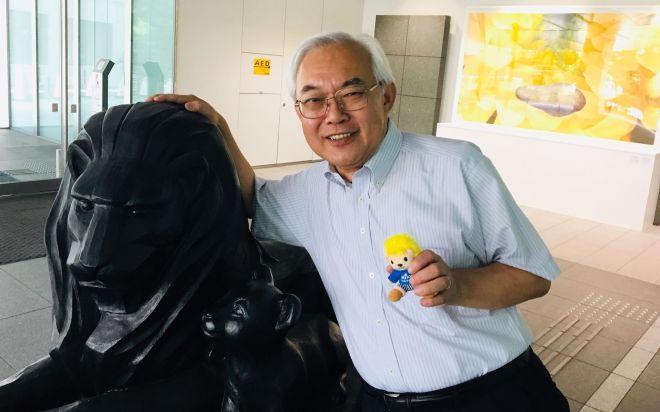 大京のグループ経営企画部・伊奈幸雄さん。広報歴35年の「生き字引」です