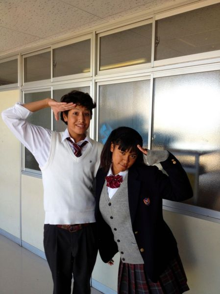 学生時代のkemioさん=MIHA提供