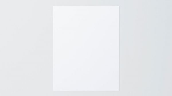 1円ショップの「コピー用紙(A4) 1枚」