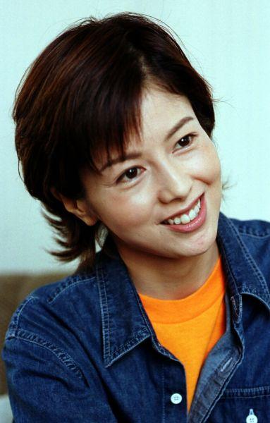沢口靖子さん=1999年10月1日