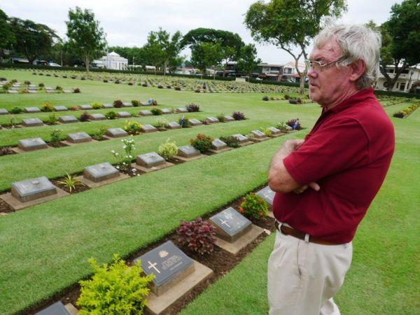 泰緬鉄道の歴史に人生をかけたロッド・ビーティーさん