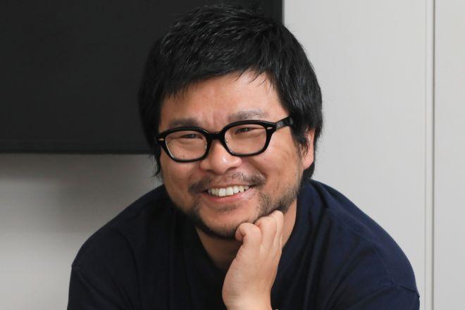TBSラジオの深夜番組「JUNK」の統括もしている宮嵜守史プロデューサー=瀬戸口翼撮影