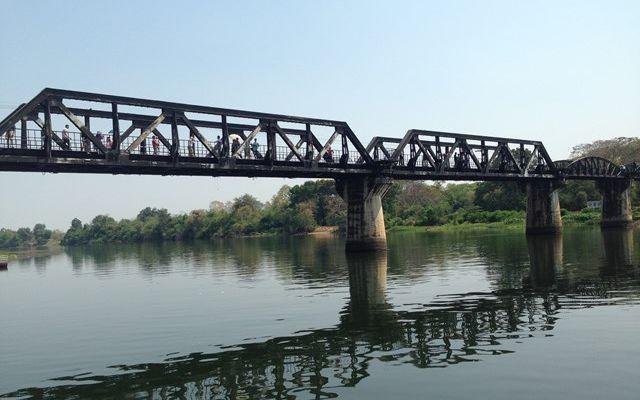 「戦場にかける橋」の舞台となった泰緬鉄道のクワイ橋