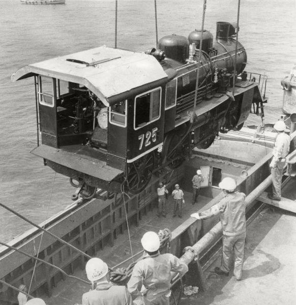日本に戻ってきた泰緬鉄道の機関車