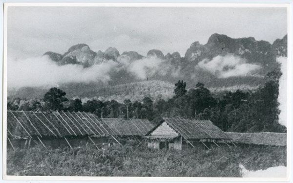 戦時中につくられた泰緬鉄道