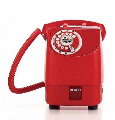 新形赤電話機=1971年