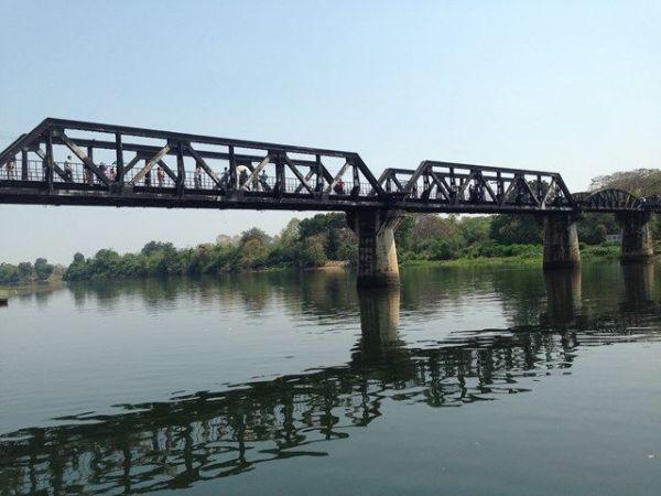 「戦場にかける橋」の舞台になった泰緬鉄道のクワイ橋
