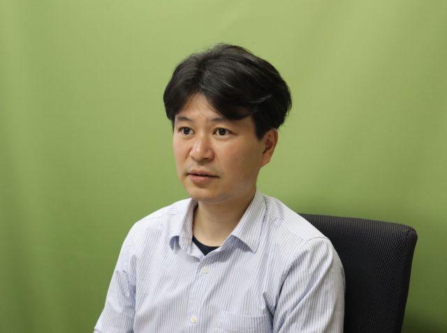「ストップいじめ!ナビ」の須永祐慈さん