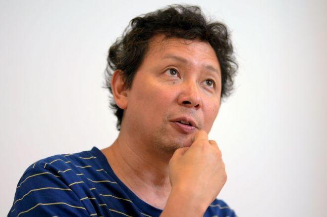 「サマーソニック」生みの親、クリエイティブマンプロダクションの代表取締役、清水直樹さん=西田裕樹撮影