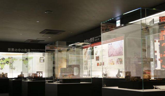 和食文化博物館の内部