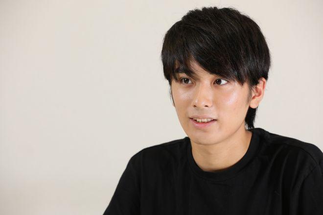 「ノーサイド・ゲーム」に出演中の村田琳さん=瀬戸口翼撮影