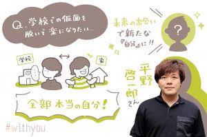 学校での「仮面」は脱がなくていい 平野啓一郎さんの「分人構成図」