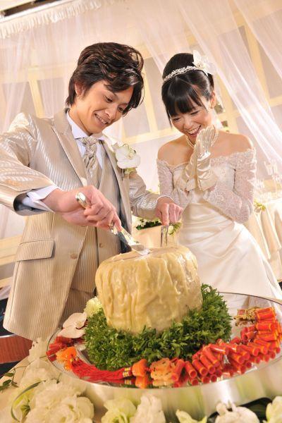 崎陽軒本店で式を挙げる夫婦の9割以上のご夫婦が注文するそうです