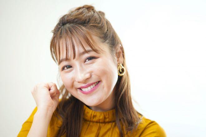 タレントの鈴木奈々さん=西田裕樹撮影