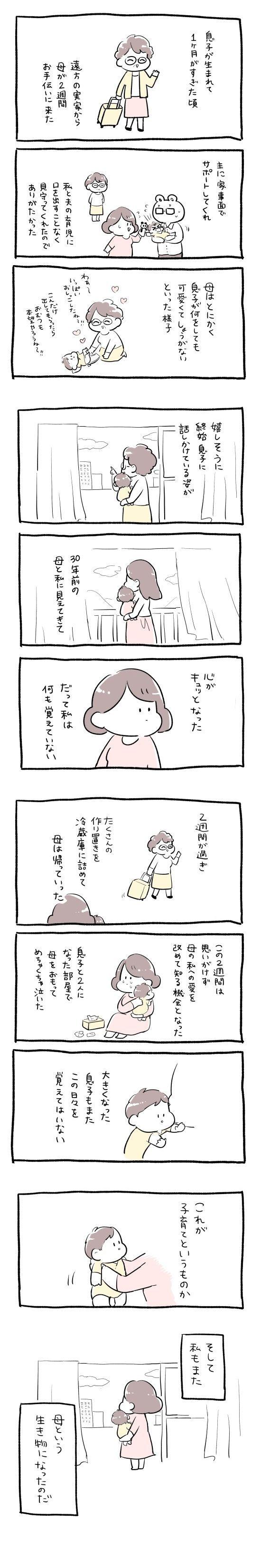 漫画「母という生き物」