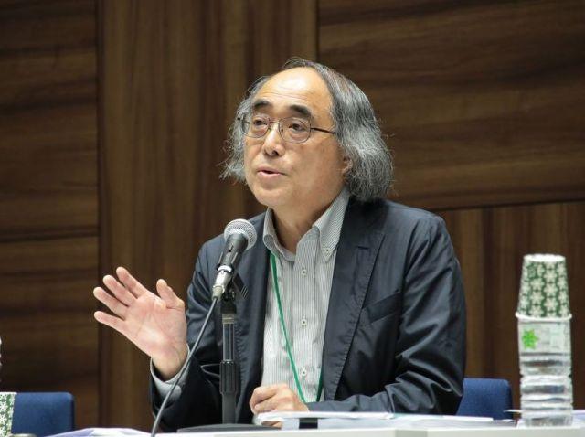 京都産業大の伊藤公雄客員教授=笹川平和財団提供