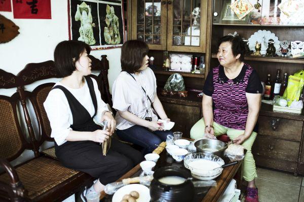 取材で家庭を訪れた時の様子 photo by Yoko Takahashi