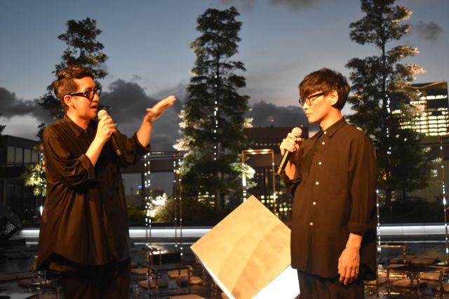 黒瀧節也さん(左)も山口さんとともに、サウンドクリエイションをプロデュース