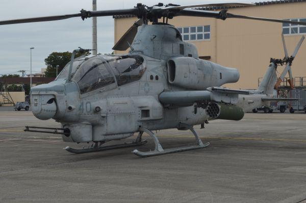 米海兵隊の攻撃ヘリAH1Z