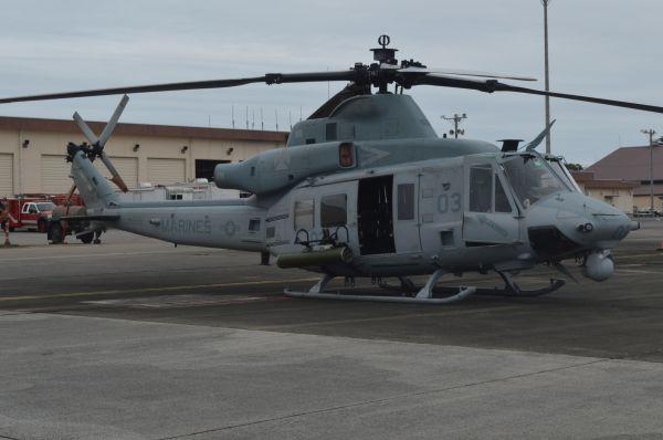 米海兵隊の多用途ヘリUH1Y