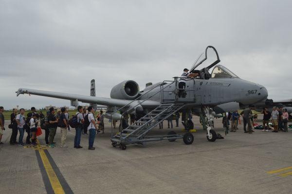 米空軍の攻撃機A10C