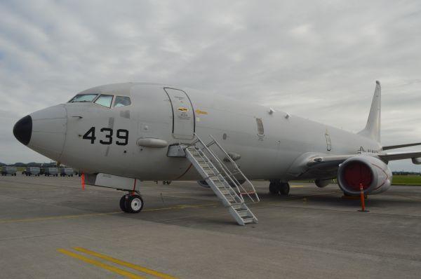米海軍の洋上哨戒偵察機P8A