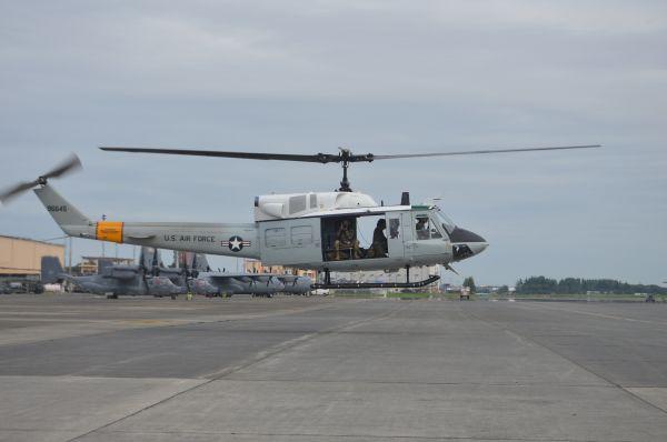 米空軍の多用途ヘリUH1N