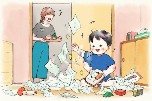 子どもの「繰り返し」を心配する親には「決まった反応が常に起こるということによる安心感もあるのではないかと思われます」と回答。