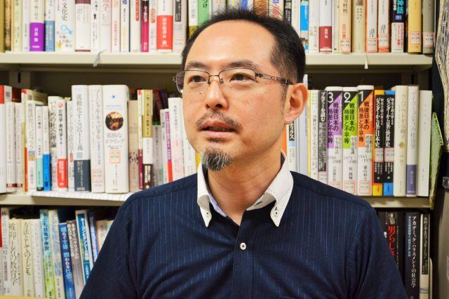 関西大学教授の多賀太さん