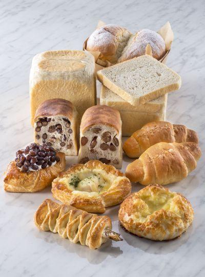 北海道ししゃも巻き以外にも、北海道にちなんだパンがたくさんあります