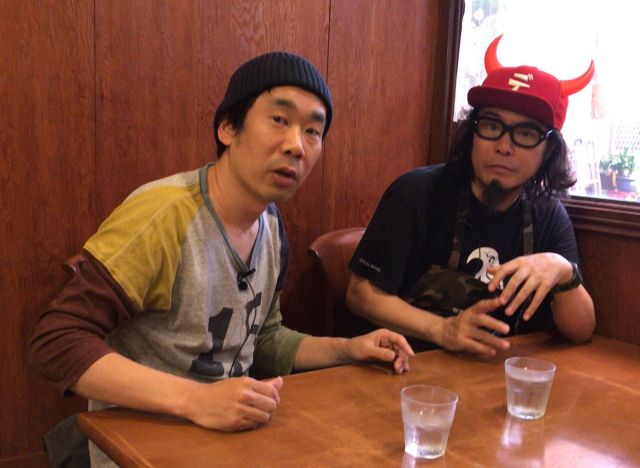 キンさん(左)と大場さん