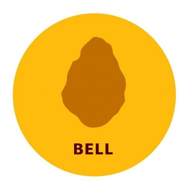 4種類の形のうちのひとつ「ベル」
