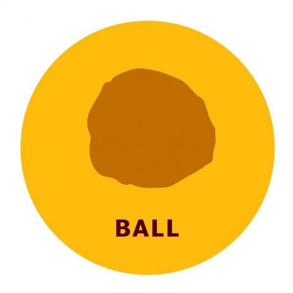 4種類の形のうちのひとつ「ボール」