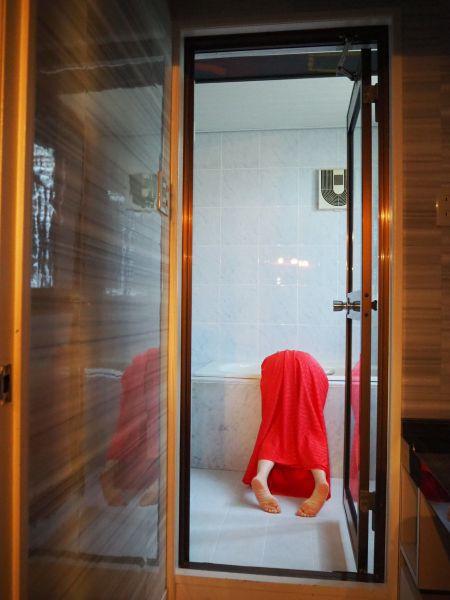 風呂場でも撮影