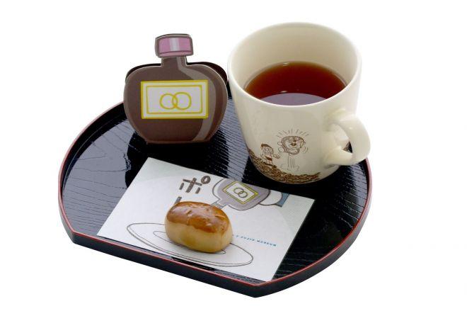 「バイバイン de 無限∞くりまんじゅう」。栗饅頭は何度でもおかわり可能です (C)Fujiko-Pro