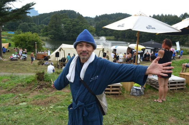 サウナ大使ことマンガ家・タナカカツキさん。サウナーのバイブル「サ道」は今年TVドラマになりました。
