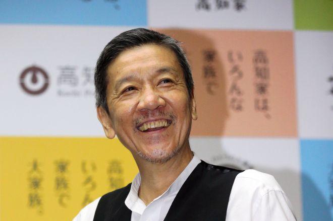 奥田瑛二さん=2018年