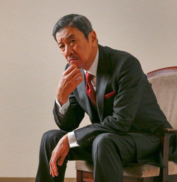 奥田瑛二さん=2019年、槌谷綾二撮影