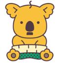 江幡さん推しの「おやじコアラ」ⒸL/KMP