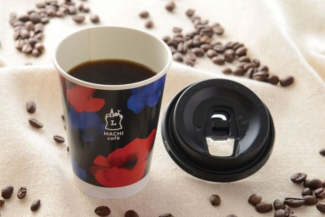 リニューアルしたブレンドコーヒーと「香りフタ」