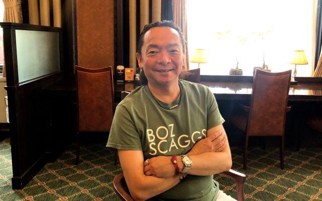 安藤哲也さん。2006年創設のファザーリング・ジャパンには約400人の会員がいる