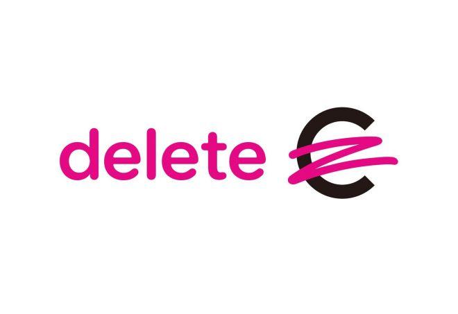 deleteCのロゴ