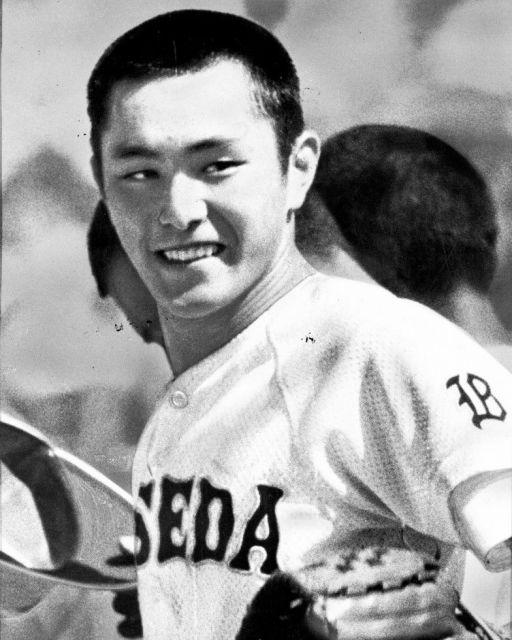 1981年の夏、早稲田実2年だった荒木大輔投手。甲子園のアイドルとして「大ちゃんフィーバー」を巻き起こした
