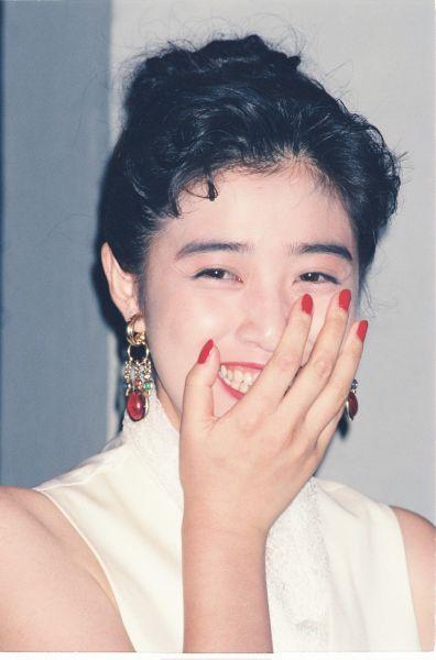 1992年、映画の「パラオ」主演の菊池桃子さん