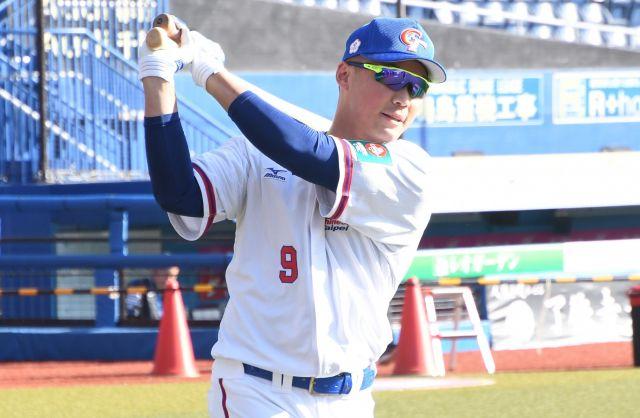 台湾代表の王柏融選手