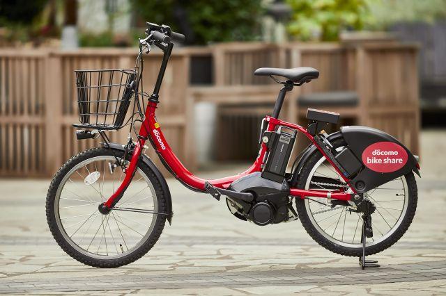 都内で利用できる自転車は4種類。写真はそのうちの1種類。